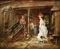 Edward Lamson Henry (American artist, 1841-1913) Capital and Labor