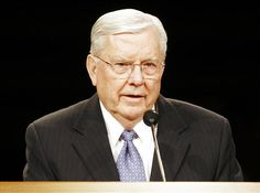 Russell Ballard serves as a member of the Quorum of the Twelve Apostles for The Church of Jesus Christ of Latter-day Saints. But he was also a car salesman w Conference Talks, General Conference, M Russell Ballard, Lds Apostles, Lds Church, Latter Day Saints, Heavenly Father, Biography, How To Fall Asleep