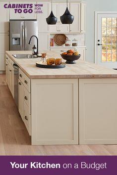 Easy Kitchen Updates, Kitchen On A Budget, Updated Kitchen, Kitchen Redo, Home Decor Kitchen, Interior Design Kitchen, Country Kitchen, Home Kitchens, Kitchen Dining