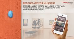 Are you looking for creative ways to interact with the visitors at your museum? Boost real-time interactivity with SetBeacon. Beacon App, The Visitors, Physics, Museum, Creative, How To Make, Museums, Physique