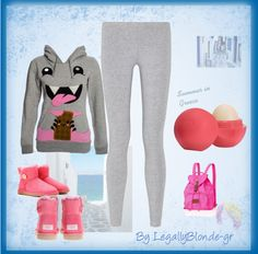 """Another Lazy Day"" by cherri-candie on Polyvore"