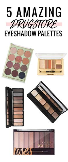 These drugstore eyeshadow palettes are absolute must haves! Such amazing quality and pigmentation.
