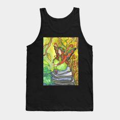 Tank Tops by fairychamber Wearable Art, Fantasy Art, Tank Man, Tank Tops, Illustration, Prints, Halter Tops, Fantastic Art, Fantasy Artwork