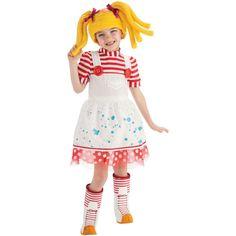 Lalaloopsy Spot Splatter Splash Doll Costume