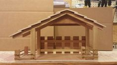Up for sale is a Handmade Christmas Manger, Nativity, Stable with night light and rope fencing. Look at picture. The night light has roll switch for on and off and the cord is brown. You can stain them yourself if you want a darker color. Christmas Crib Ideas, Christmas Gifts For Parents, Christmas Manger, Christmas Nativity Scene, Handmade Christmas Decorations, Christmas Wood, Christmas Crafts, Nativity House, Nativity Creche