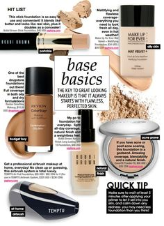 5 flawless foundations