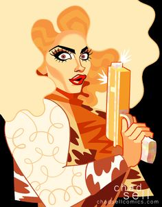 Alyssa Edwards as Annie Oakley - All Stars 2 Episode 3 - by Chad Sell