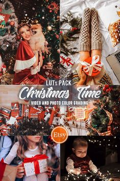 Get these amazing Christmas Luts to color grade your videos and photos. Make festive cozy look for your video content in just second! #christmasluts #cinematicluts Video Editing, Photo Editing, Font Digital, Invitation Fonts, Wedding Presets, Color Grading, Social Media Branding, Abstract Logo, Photo Colour