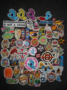 santa cruz skateboards sticker by jim phillips.