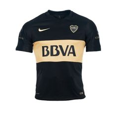CAMISETA ALTERNATIVA 2 NIKE BOCA JUNIORS STADIUM 2016 NIÑO - dexter