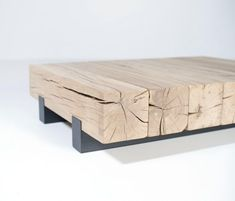 DIY Coffee Tables - This solid oak coffee table consist of 7 robust beams, which measure and.