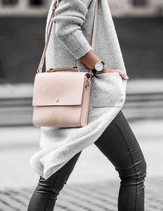 pink + grey | minimal chic