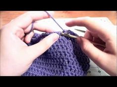 How to Crochet a Beanie: the best video tutorial I've found
