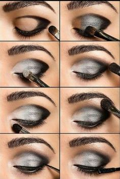 make up guide Eye Make up Ideas Get the latest Eye Make up How Tos, Eye Makeup Tips and Tricks only at StyleCraze. make up glitter;make up brushes guide;make up samples; Beauty Make-up, Beauty Secrets, Beauty Hacks, Fashion Beauty, Hair Beauty, Beauty Care, Beauty Skin, Beauty Tutorials, Scene Makeup Tutorials