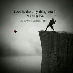Love is the only thing worth waiting for. via (http://ift.tt/2lLZx3X)