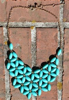 Fanshaped Tessellate Necklace $21.00 & Free Shipping