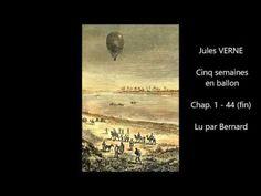 Jules VERNE - Cinq semaines en ballon - Livre audio - YouTube