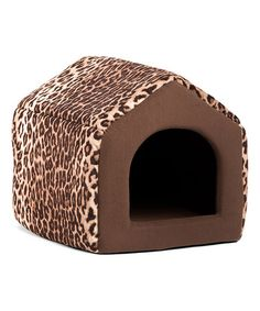 Love this Brown Leopard 2-in-1 Pet House/Sofa on #zulily! #zulilyfinds