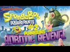 Spongebob Squarepants Game Full Episode 2 - Plankton's Robotic Revenge T...