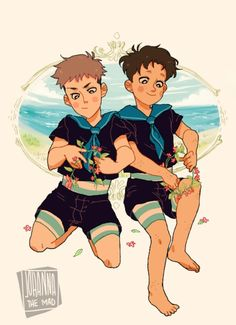 Marco and Jean by Johanna the mad< this gave me all the feels