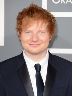Ed Sheerannnnnnn he is a Ginger!! I'm obsessed with his song Lego House ahhhh.... <3