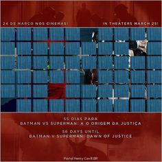 """""""55 dias para Batman vs Superman: A Origem da Justiça // 56 days until #BatmanvSuperman!  #TeamSuperman #BvS #HenryCavill #superman #aorigemdajustiça…"""""""