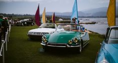The bevy of beauties at the 2018 Pebble Beach Concours d'Elegance Pebble Beach Concours, Bmw Classic, Citroen Ds, Collector Cars, Elegant, Magazine, Beauty, Classy, Magazines