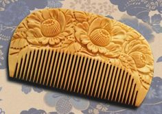 a comb. all handmade