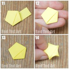 Twinkle twinkle little star.. cute little paper origami stars. So fun to make! Oh the possibilities!