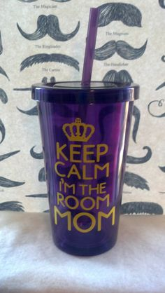 haha! Mom could have used this! Keep Calm I'm The Room Mom. Great room mom gift!!!