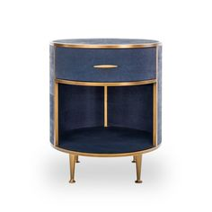Bedside Table By Di Designs In Navy Reen Also Available As A Console Www