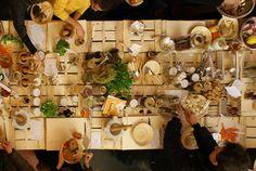 bq interactive dinner