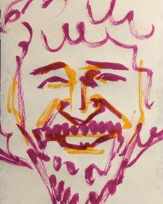 いいね!17件、コメント2件 ― @1mindrawのInstagramアカウント: 「#bobross #ボブロス #painter #画家 #thejoyofpainting #ボブの絵画教室 #19421029 #birthday #1mindraw #一分描画 #誕生日…」
