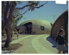 Exterior, Binishell Library, North Narrabeen Primary School