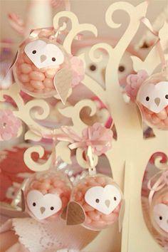Hermoso accesorio para mesa de postres árbol