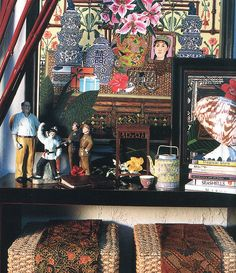Stuart Membrey's studio by midcenturyjo, via Flickr