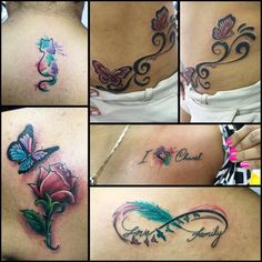 #mulpix Chicas y tinta! Algunos trabajos a colores hechos en @tattooevolutionpanama  #tattoo  #panama  #pty  #ink  #art  #artist  #bodyart  #tattooart  #custom  #tatuaje  #tat  #colotattoos  #girlstattoos  #tattooart  #inkstagram