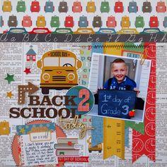 Back 2 School - Scrapbook.com