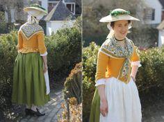 Mode de Lis: Past Projects · Mustard Linen Jacket