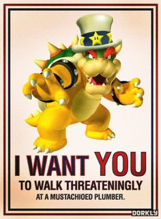 "Video Game Political Poster ""Art by Cara Holland"" Mario Kart, Mario Bros., Atari Video Games, Video Game Posters, Space Invaders, Pac Man, Donkey Kong, Game Boy, Luigi"