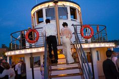 Romantic wedding on a boat!! check out our timber paddle wheelers at www.kookaburrariverqueens.com