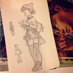 Sketch by anna_cattish