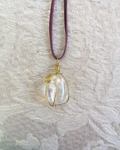 Ein persönlicher Favorit aus meinem Etsy-Shop https://www.etsy.com/de/listing/485586739/angel-aura-quartz-necklace