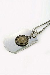 giving one to my son before he goes out of state for work this summer. Watch Necklace, Dog Tag Necklace, Saint Christopher, Men Store, Gentleman Style, Dog Tags, Cool Pictures, Watches For Men, Boyfriend