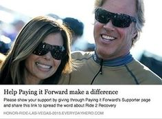 Amie and I will be participating in Ride 2 Recovery's Honor Ride Las Vegas on November 7th! This year, we will be matching all gifts, up to $25,000! If you donate, the funds raised help support Ride 2 Recovery's unique veteran rehabilitation programs. We are now doing a GIVEAWAY for several donation amounts, so head to my Facebook page to hear more. To donate go to the link in bio! #FlippingVegas #HonorRideLasVegas #Ride2Recovery