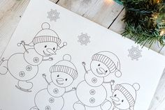 Snowmancoloringpage