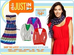 """Old Navy Weekend Sale - Let the Sun Shine with Old Navy coupon code """"ONSUNSHINE"""" and save 15% on your purchase plus get 8% Cash Back through our Online Mall! Cardholders get 20% off. Hurry you only have 4 days to shop! Offer good through 6/23."""