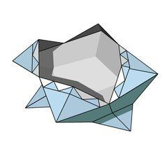 Origami Diagram: Containers
