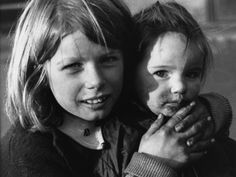 Portrait of Two Young Children, Manchester, United Kingdom, 1973, photograph by Shirley Baker.