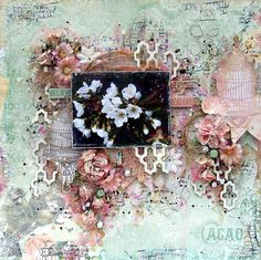 LO / SOE October Kit 'Pretty Things' - Scraps of Elegance using beautiful October Kit 'Pretty Things'.  http://annar-mojepasje.blogspot.com/2014/10/scraps-of-elegance-october-pretty_13.html Bo Bunny - Madeleine Collection